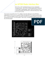 Motorola Radius GP300 Radio Interface Box