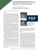 1999 Preparation and Properties of an Aqueous Ferrofluid