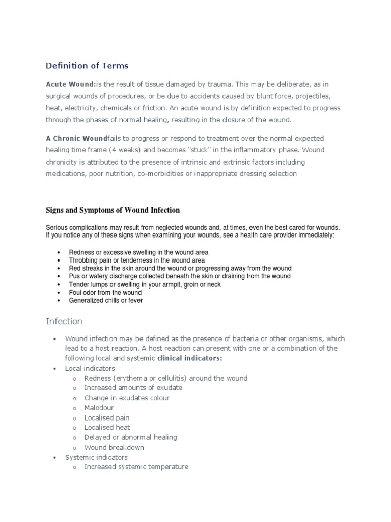 wound care docx | Wound | Wound Healing