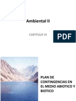 Cap VI  Plan de contingencias en el medio abiotico y biotico.ppt