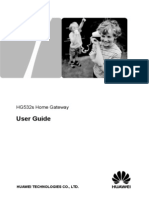 Huawei Hg532s User Manual