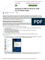 How to Create Windows 8 VHD for Boot to VHD Using Simple