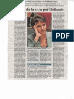 Portrait de Najat Vallaud-Belkacem dans El Mundo