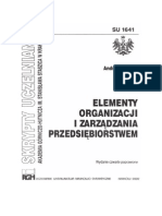 A.Peszko-Elementy Organizacji i Zarządzania Przedsiębiorstwem