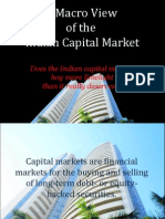 A Macro View of the Indian Capital Market