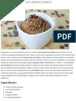 Mousse de Ciocolata (Reteta Video) - JamilaCuisine