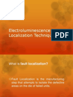 Electroluminescence Localization Techniques