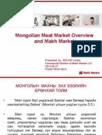 Makhnii yildverlel Mongold