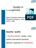 M7-Water Quality Emergency