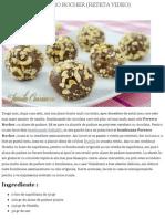 Bomboane Ferrero Rocher (Reteta Video) - JamilaCuisine