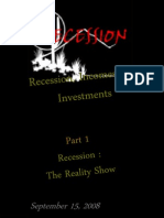 Recession in US and Europe