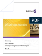 Alcatel-Lucent UMTS Link Budget Methodology v1.0