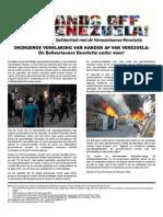 DRINGENDE VERKLARING VAN HANDEN AF VAN VENEZUELA: De Bolivariaanse Revolutie onder vuur!