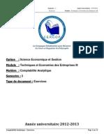 s3 Teeiii Comptabilitanalytique Exercices 131018102827 Phpapp02