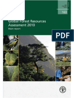 FAO Forest Resource Assessment FRA 2010 Main Report