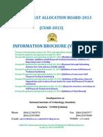 Information Brochure IX (25.07.2013)