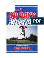 60 day speed training plan
