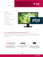 LG LED Monitor IPS231P Specification
