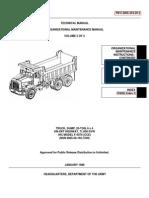 TM 5-3805-254-20-2 IHC F-5070 DUMP TRUCK