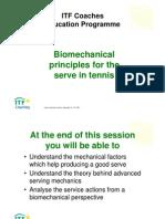 Biomechanics Serve Itf Coaching
