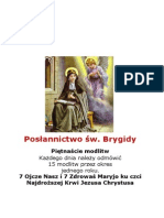 POLISH BOOK the Prayers Jesus Gave to Saint Bridget of Sweden