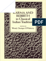 Wendy Doniger OFlaherty Karma and Rebirth in Classical Indian Traditions 1980