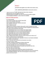 Lista de Comandos en Windows 7