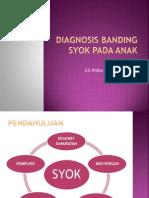Diagnosis Banding Syok Pada Anak