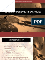 2 Monetary & Fiscal Policy