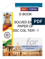 Free Guide SSC CGL Tier 1 Solved Papers