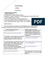 Detailed Lesson Plan of Class VI-Science