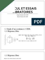 Calcul Et Essais Vibratoires