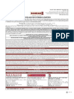 Sonear Industries Limited - Draft Red Herring Prospectus
