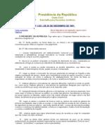 legislação especial - RECEITA FEDERAL