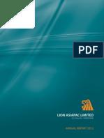 Lion Asiapec Ltd 2012 Ar