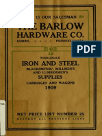 Net Price list of Iron and Steel
