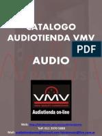 Catalogo Audio y Accesorios VMV