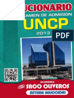 UNCP 2013 II Solucionario III
