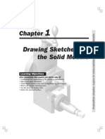 SolidWorks 2005 - Drawing Sketches for the Solid Models - SolidWorks