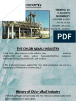 chlor-alkali industry