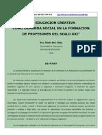 LA  EDUCACION CREATIVA