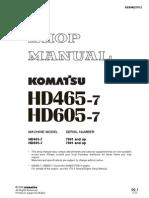 HD465 7 Shop Manual SN 7001 Up