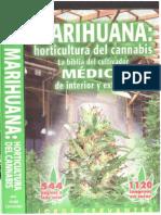 90348329 Jorge Cervantes Marihuana Horticultura de Cannabis La Biblia Del Cultivador Medico de Interior Y Exterior