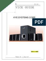 SW-5.1 3005 Service Manual