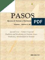 PASOS25 2011. Tradicion y Modernidad en Turismo