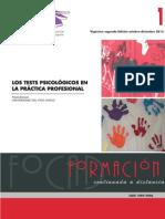 Los tests psicologicos en la práctica profesional