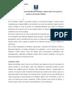Ética y Moral en la Escuela desde diferentes Enfoques y puntos críticos de su puesta en marcha en las Escuelas Chilenas