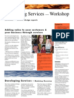 Developing Services — Workshop
