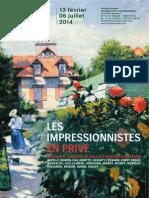 Musée Marmottan Monet - Les Impressionnistes en Privé - dossier de presse