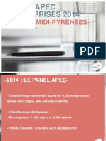 Présentation Panel APEC 2014 Midi-Pyrénées - 13 février 2014
